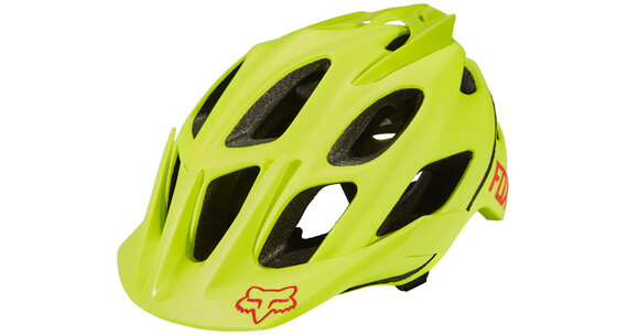 Fox Flux Optik - Casque Homme - jaune